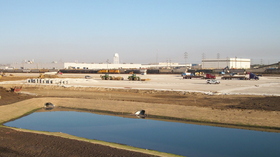 ADM Storage-In-Transit Yard