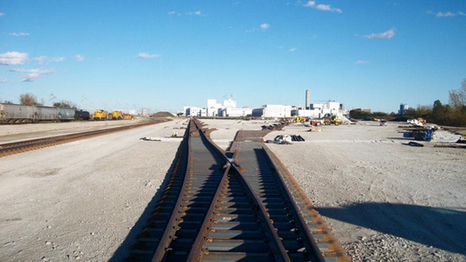 ADM Class I Railroad Interchange Network